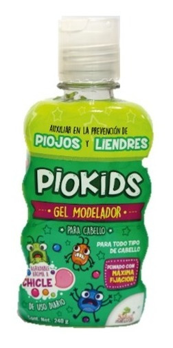 2pz Piokids Gel Para Cabello Antipiojos Y Liendres +efectivo