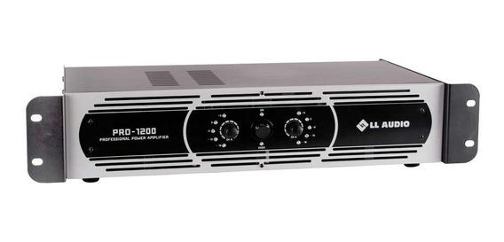 Amplificador Potência Profissional Ll Pro 1200 300w Rms