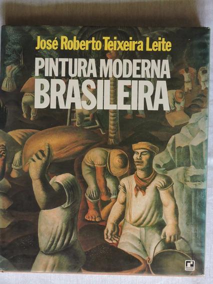 Pintura Moderna Brasileira 166 Pg Ed. Record 1978