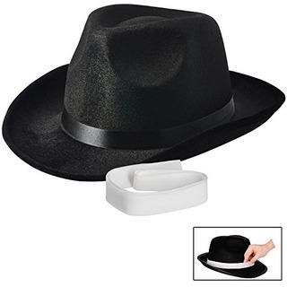 Sombrero De Gángster De Nueva Novedad De Nj Fedora, Accesori