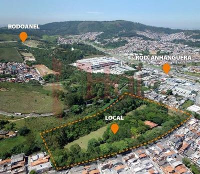 Venda Ou Locação Terreno, Gleba De 41.729 M², Perus, Anhanguera, São Paulo,sp, Excelente Localização - Hi6775