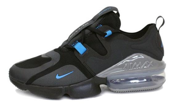 Tenis Nike Air Max Infinity Negro/azul Bq3999-006 Nk0578
