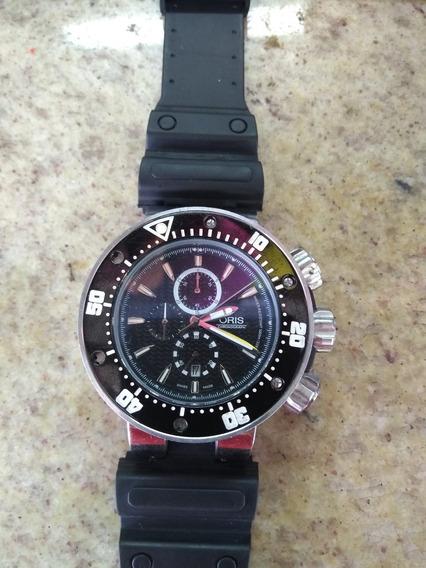 Oris Prodiver Chronograph Titanium Watch 7630