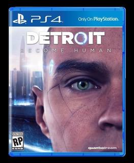 Detroit Become Human Ps4, Disco, Nuevo Y Sellado