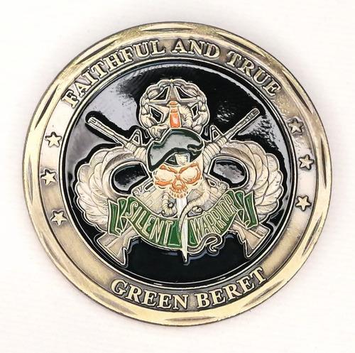 Imagen 1 de 6 de Moneda Militar, Fuerzas Especiales, Green Beret