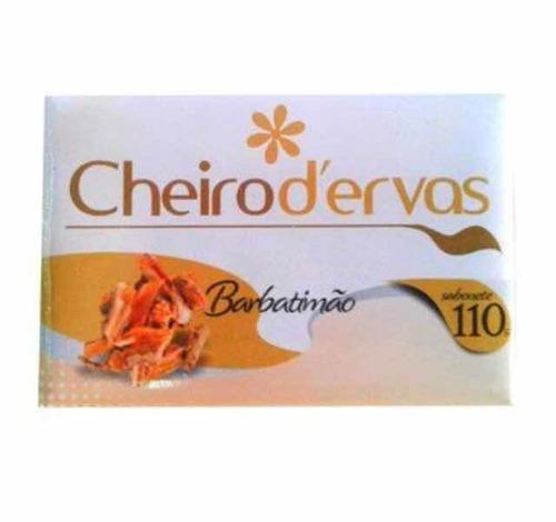 Sabonete De Barbatimão Cheiro D Ervas 110g Preço Com 12 Un.