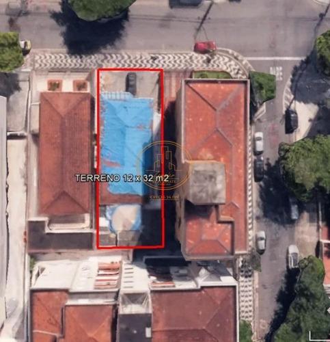 Terreno  Localizado(a) No Bairro Embaré Em Santos / Santos  - 5747