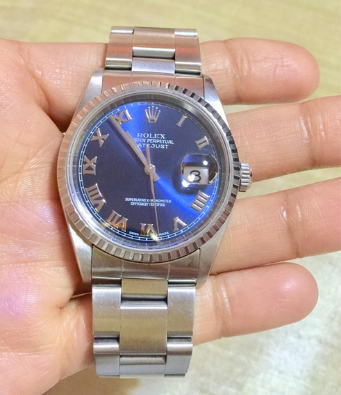 Rolex Oyster Perpetual Date Just/ Caballero