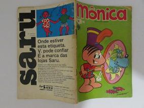 Mônica 17 - Editora Abril - Setembro De 1971