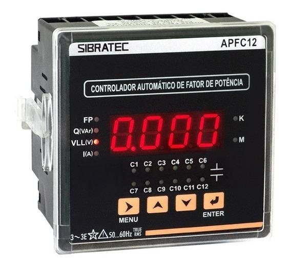 Controlador Fator De Potência Apfc12 Sibratec