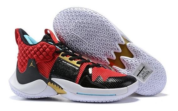 Zapatillas Tenis Nike Jordan Why Not Zer0.2 Hombre Original
