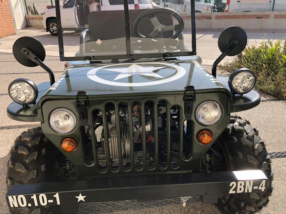 Mini Jeep Willys 2019, Cuatrimoto, Semi Automático