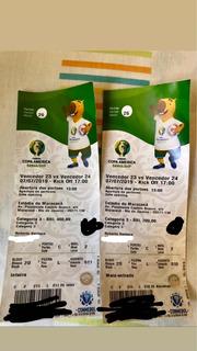 Ingresso Final Copa América - Lado A Lado Categoria 3