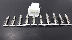 Kit Conector Femea Com 10 Pinos Terminal Macho