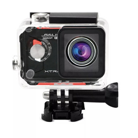 Câmera De Ação Xtrax Evo 12mp Mini-usb Full Hd Com Wi-fi