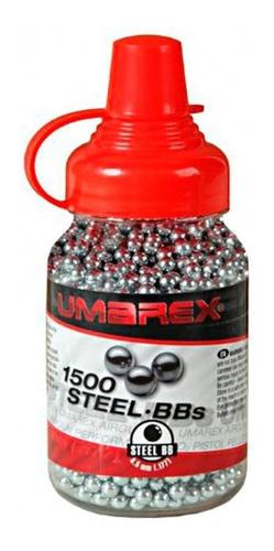 Chumbos Balines De Acero Umarex Bbs 4.5mm G P