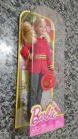 Barbie Profissões - Barbie Bombeira - Produto Novo