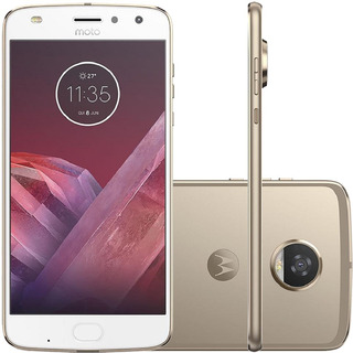 Motorola Moto Z2 Play Xt1710 64/4gb 12mp Dourado Vitrine 1