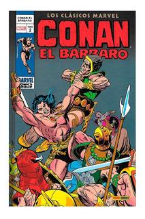Conan El Barbaro - Tomo 2 - Panini - Marvel - Robert Howard
