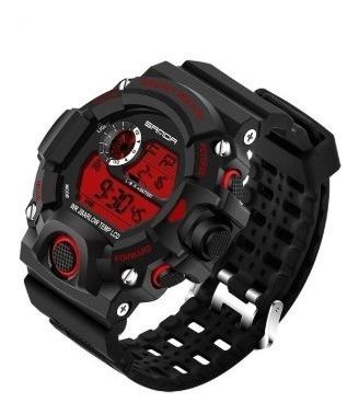 Relógio Pulso Masculimo Samda Sport Digital Prova D