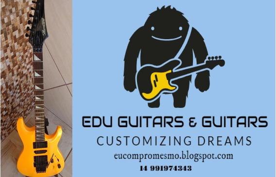 Hurricane Moridaira Japonesa Anos 80- Guitarra (n Fender)