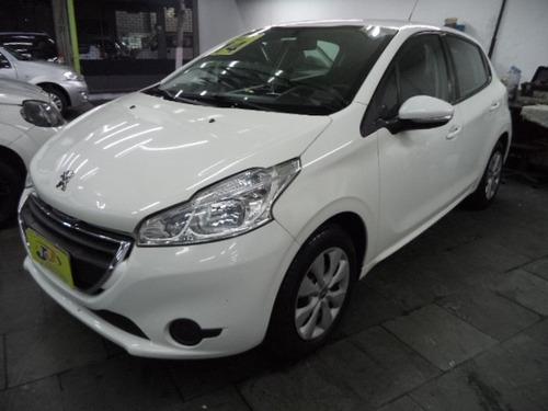 Peugeot 208 Active 1.5 8v Flex 5p Completo 2014 Branco