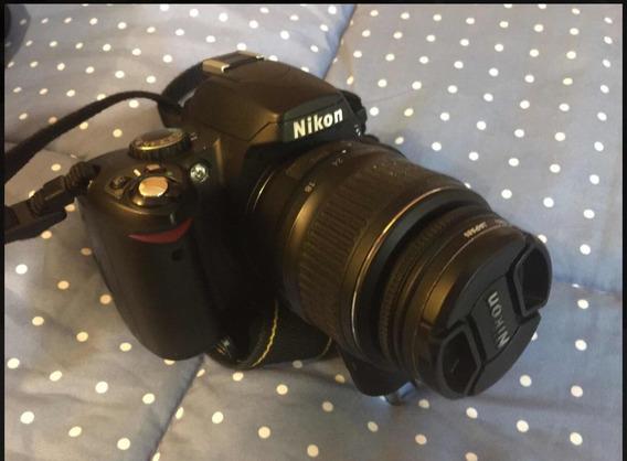 Cámara Fotográfica Nikon D40 + Mochila Profesional + 4gb