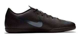 Tenis Nike Futsal Mercurialx Vapor 12 Club Preta