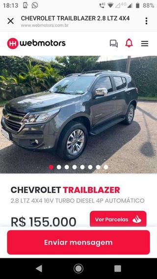 Chevrolet Trailblazer 7p/200cv/2800cl