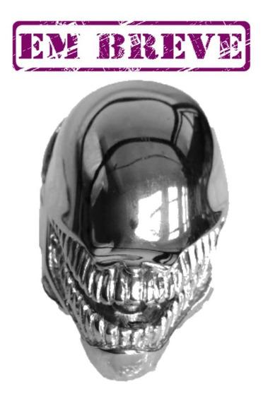 Anel Alien 8º Passageiro Aço 316l - Anel Extraterrestre Aço