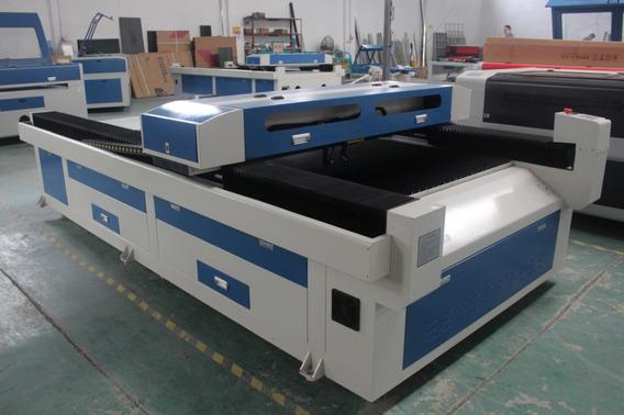 Maquina De Corte Y Grabado Laser Co2 De 130x250cm 2cañones