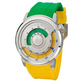 Relógio Masculino Analógico Yankee Street Ys30167g/amarelo