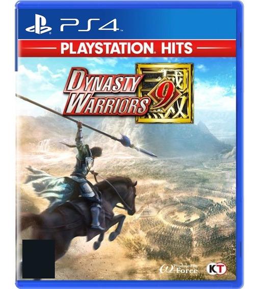 Dynasty Warriors 9 Jogo Ps4 Midia Fisica Lacrado