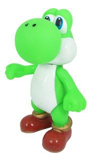 Juguete Mario Bros. Figura Yoshi Galaxy Nintendo Gamer 21cm