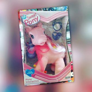 Pony Interactivo Con Luz