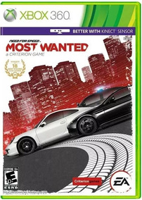 Need For Speed Most Wanted Mídia Fisica - Xbox 360