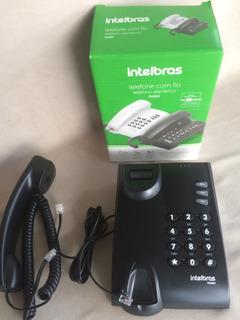 Telefone Fixo C/fio Intelbras - Casa,escritórios E Empresas