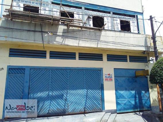 Salão Para Alugar, 150 M² Por R$ 1.500/mês - Vila Carmosina - São Paulo/sp - Sl0027