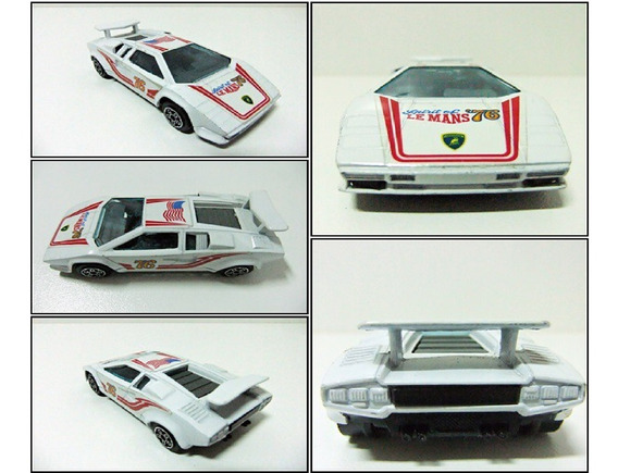 Lamborghini Countach 5000 S Bburago Nuevo En Caja