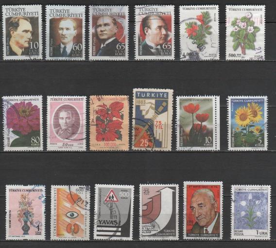 Turquia - Coleção De Selos Diferentes - 8012