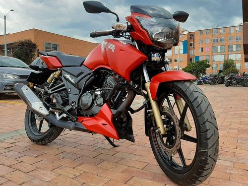 Apache 180 Rtr 2020 Rojo Mate