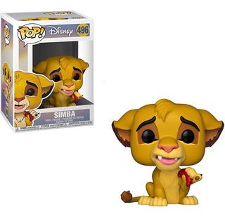 Funko Pop Disney El Rey Leon Simba #496 Juguetería El Pehuen