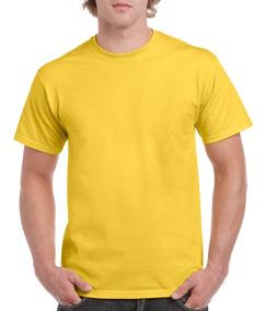 Playera Hombre Varios Colores 100% Algodón Heavy Cotton
