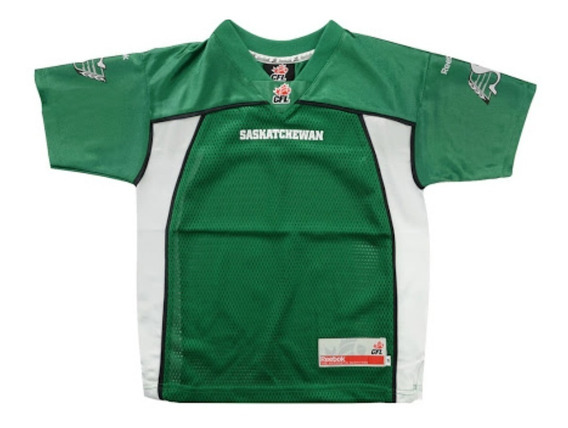 Playera Roughriders Reebok Cfl Child Jersey Hombre
