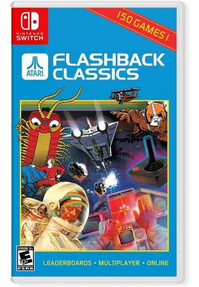 Atari Flashback Classics Switch Mídia Física Novo Lacrado