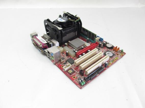 Kit Placa Mãe Msi - Pm8m-vms (processador E Memoria)