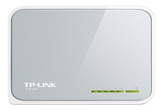 Switch 5 Bocas Tp-link Tl-sf1005d 10/100 Mexx 1