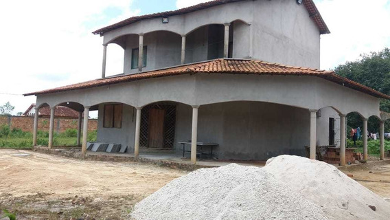 Casa De Altos Varandada+ 01 Terreno