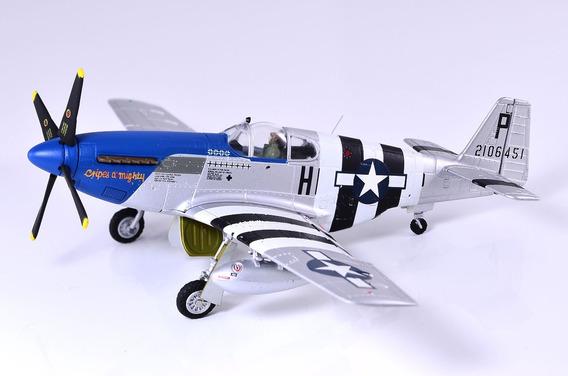 Miniatura Avião 1/72 P-51b Mustang - Gemini Aces - Ñ Corgi