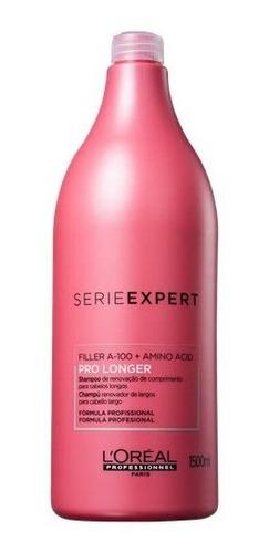 Imagem 1 de 2 de Shampoo Loreal Pro Longer Série Expert 1,5l Original